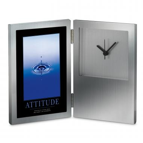 Attitude Drop Desk Clock