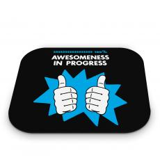 Customer Service Week - Awesomeness in Progress Mouse Pad