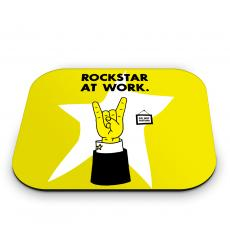 Mouse Pads - Rockstar at Work Mouse Pad