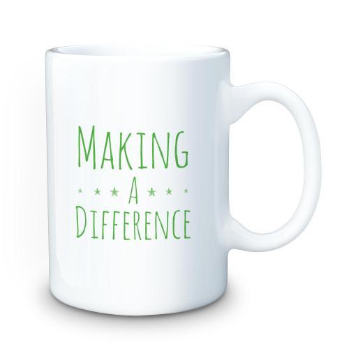 Making a Difference 15oz Ceramic Mug