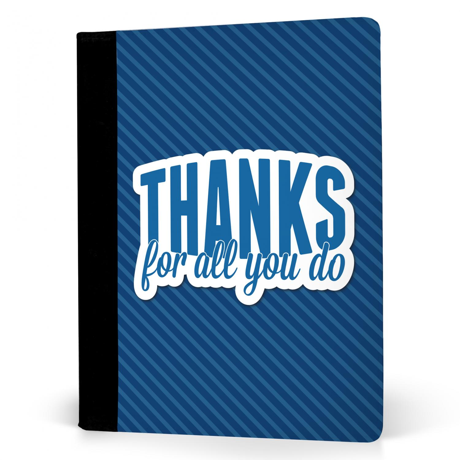 Thanks for all you do jr padfolio business gifts Thanks for all you do gifts