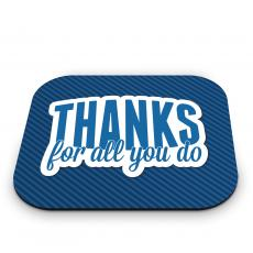 Teacher Gifts - Thanks for All You Do Mouse Pad