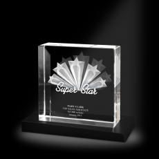 3D Crystal Awards - Super Star XL 3D Crystal Award