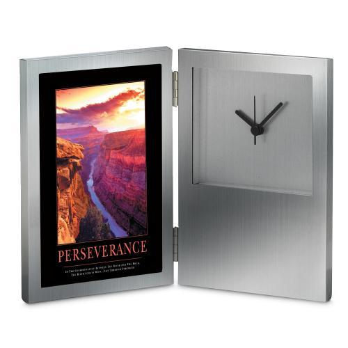Perseverance Grand Canyon Desk Clock