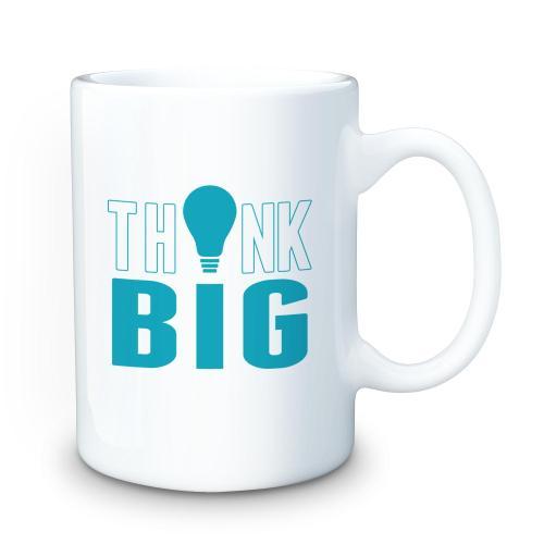 Think Big 15oz Ceramic Mug