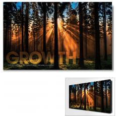 Modern Motivational Art - Growth Forest Motivational Art