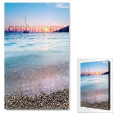 Modern Motivational Art - Opportunity Sailboat Motivational Art