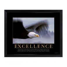 New Products - Excellence Eagle Mini Motivational Poster