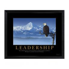 New Products - Leadership Eagle Mini Motivational Poster