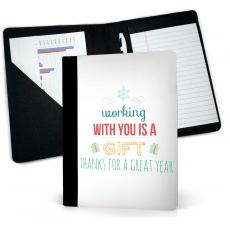 Desk Accessories - Working With You is a Gift Jr. Padfolio