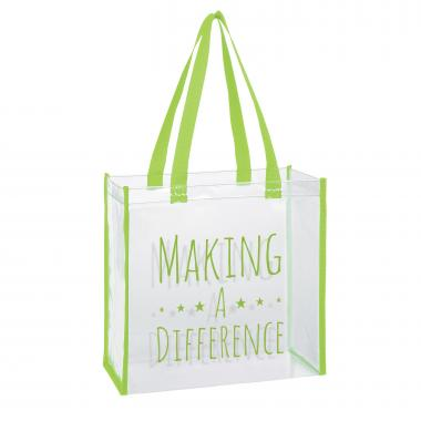 Making a Difference Stadium Tote Bag