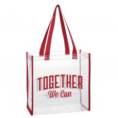 Closeout and Sale Center - Together We Can Stadium Tote Bag