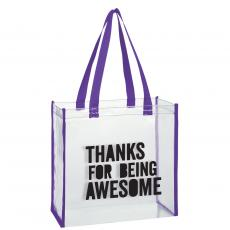 Thank You Gifts - Thanks for Being Awesome Stadium Tote Bag