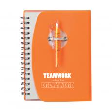 Desktop Motivation - Dream Work Notebook and Pen