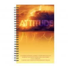 Books - Attitude Lightning Spiral Notebook