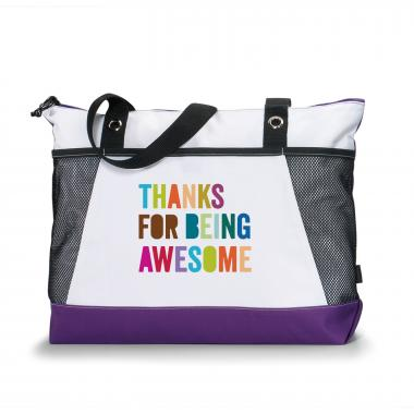 Thanks for Being Awesome Sport Tote