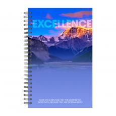 New Products - Excellence Mountain Spiral Notebook