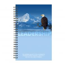 New Books - Leadership Eagle Spiral Notebook