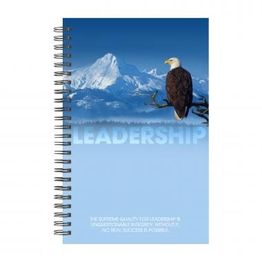 Leadership Eagle Spiral Notebook