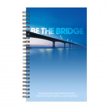 Be The Bridge Spiral Notebook