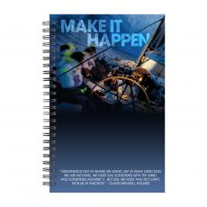 New Products - Make It Happen Spiral Notebook