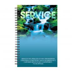 New Products - Service Waterfall Spiral Notebook