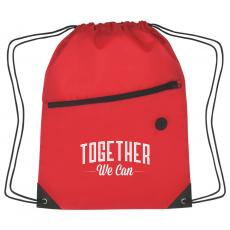 Closeout and Sale Center - Together We Can Cinch Close Backpack