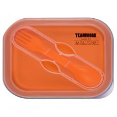Teamwork Makes the Dream Work - Dream Work Collapsible Food Container