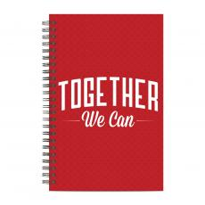 New Products - Together We Can Spiral Notebook