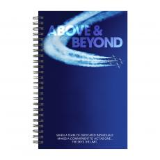 New Products - Above & Beyond Jets Spiral Notebook