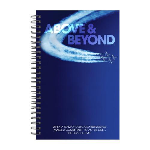 Above & Beyond Jets Spiral Notebook