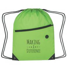 New Products - Making a Difference Cinch Close Backpack