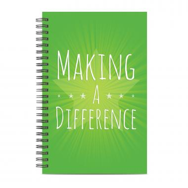 Making a Difference Spiral Notebook