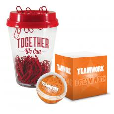 New Products - Teamwork Motivational Desktop Set