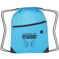 Backpacks - Awesomeness in Progress Cinch Close Backpack