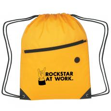 Closeout and Sale Center - Rockstar at Work Cinch Close Backpack