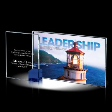Leadership Theme Crystal Award