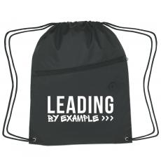 New Products - Leading by Example Cinch Close Backpack