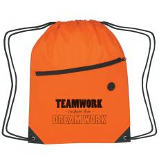 New Themes - Dream Work Cinch Close Backpack