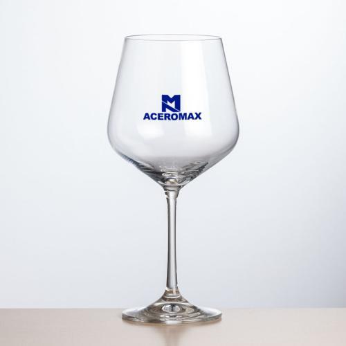 Breckland Burgundy Wine - Imprinted 19oz