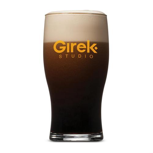 Elmhurst Beer Glass - Imprinted 19.5oz