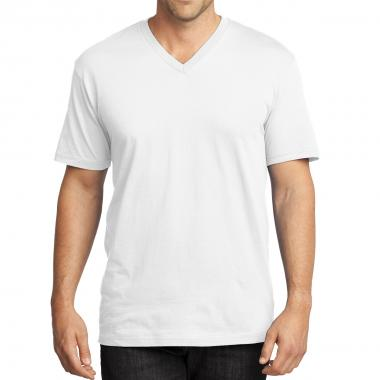 District Made® Men's Perfect Weight® V-Neck Tee