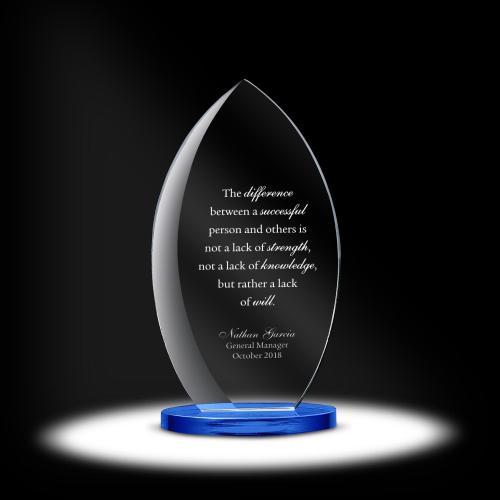 Petiole Dais Crystal Award