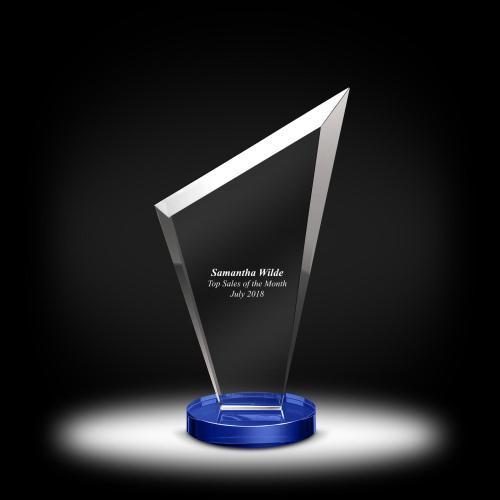 Peak Dais Crystal Award