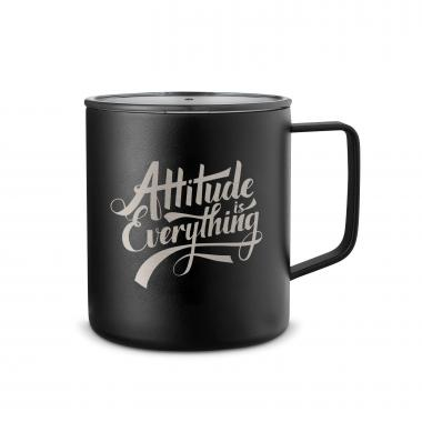 Attitude is Everything 14oz. Travel Camp Mug