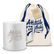 Camp Mug - Attitude is Everything 14oz. Travel Camp Mug