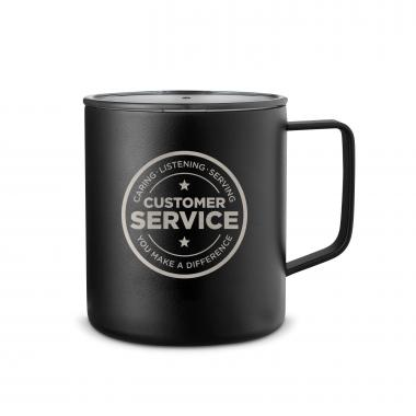 Customer Service 14oz. Travel Camp Mug