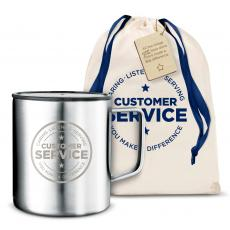 Camp Mug - Customer Service 14oz. Travel Camp Mug