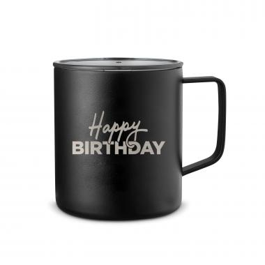 Happy Birthday 14oz. Travel Camp Mug