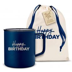 Camp Mug - Happy Birthday 14oz. Travel Camp Mug